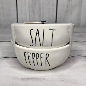 Rae Dunn SALT + PEPPER Bowls